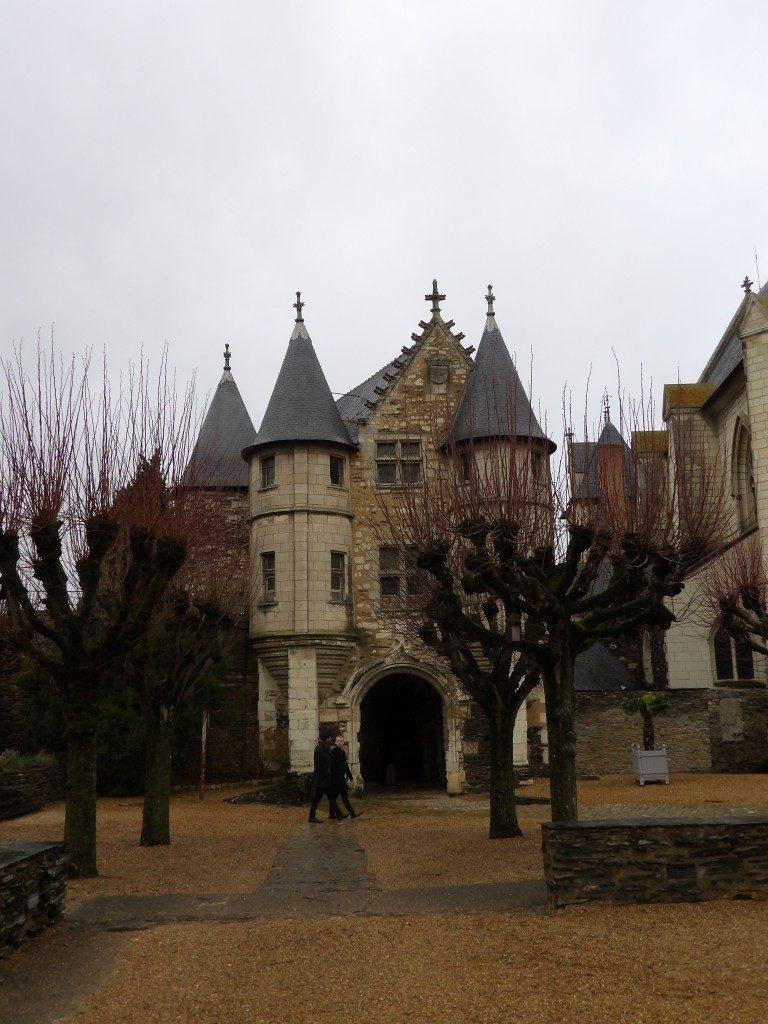 tours Château d'Angers