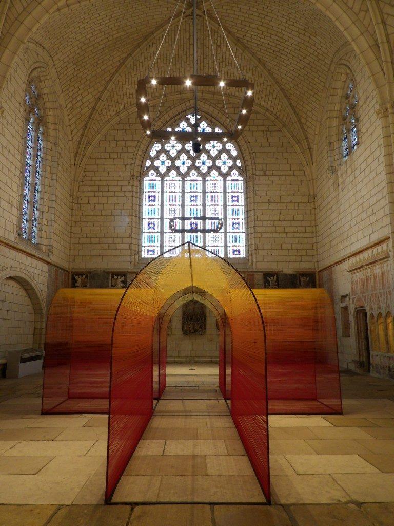 La Cathédrale de Fil château d'Angers