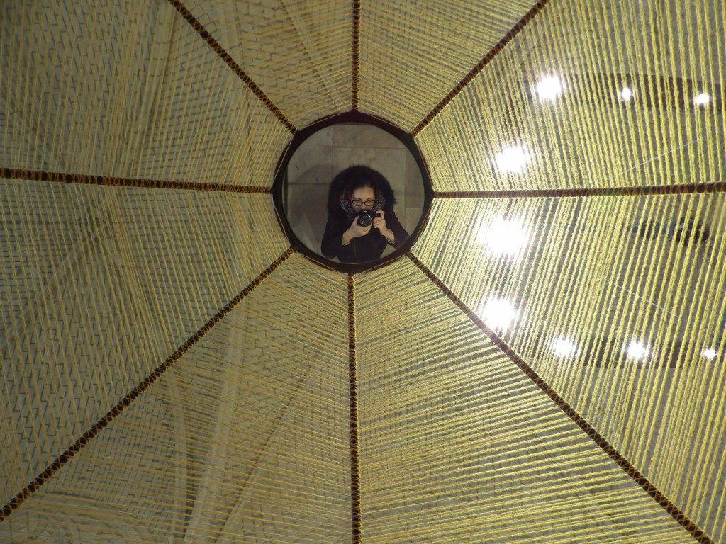 Miroir La Cathédrale de Fil château d'Angers