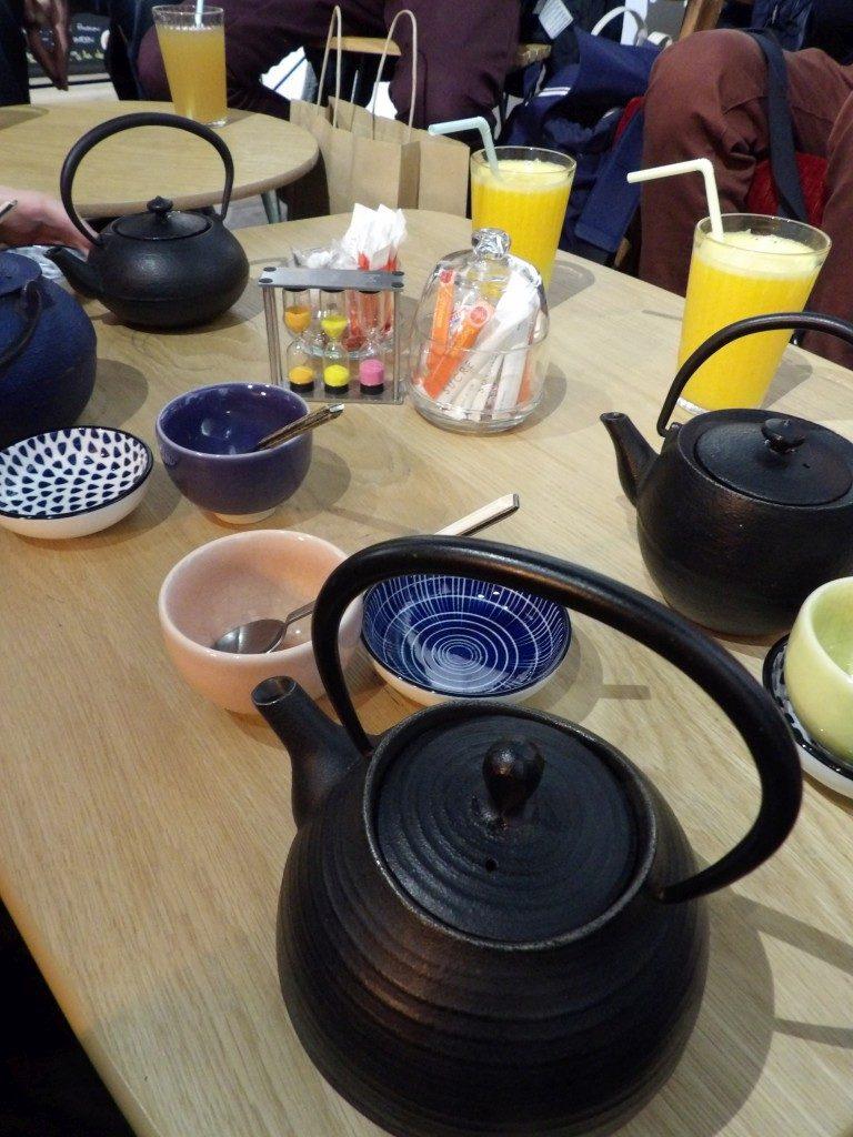 théières salon de thé One Way Angers
