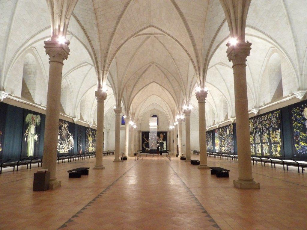 salle tenture Apocalypse Musée jean Lurçat Angers