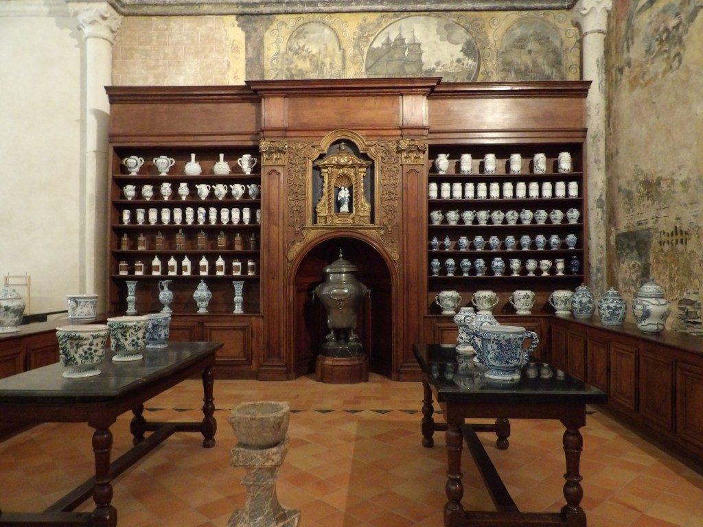Apothicaire Musée jean Lurçat Angers