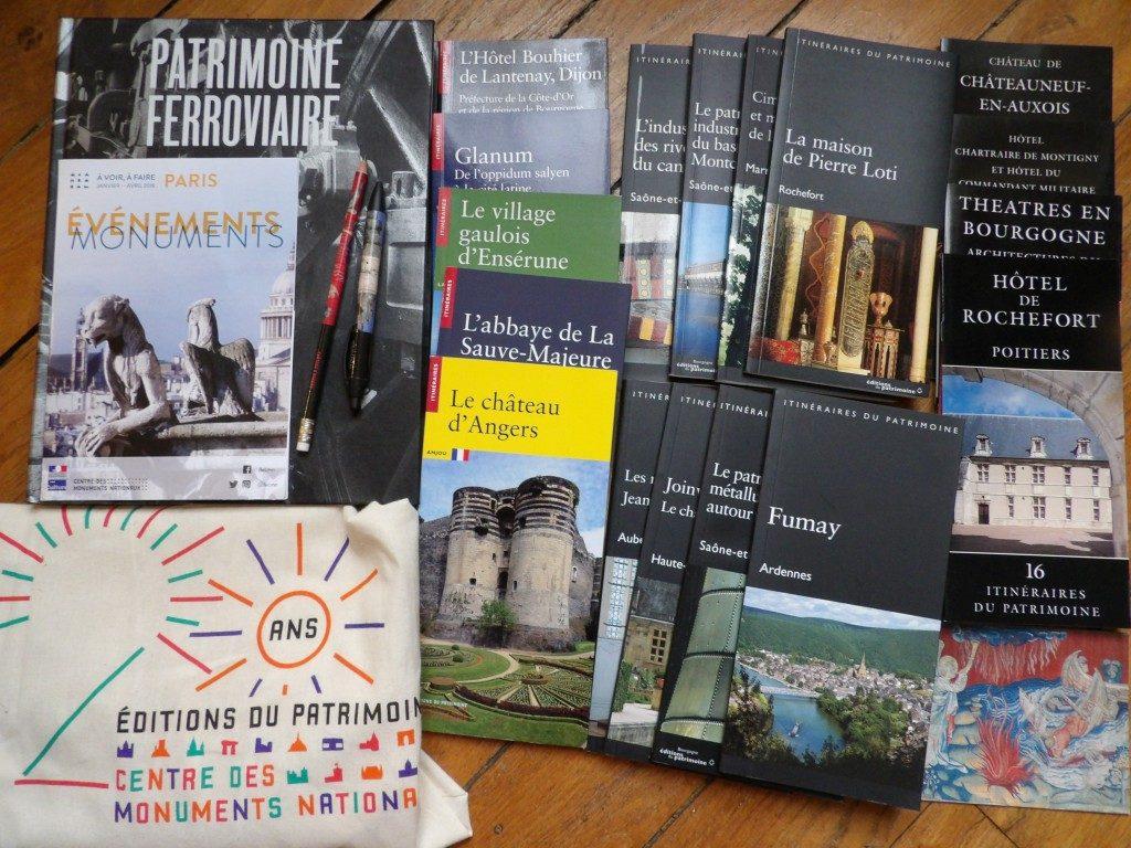 livres Editions du Patrimoine CMN