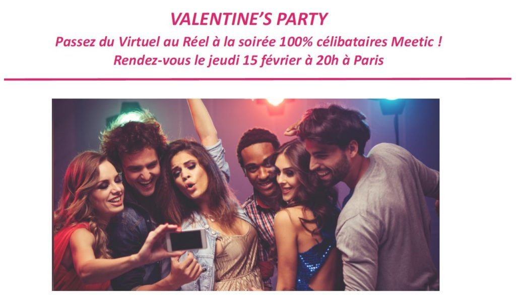 Valentine's Party de Meetic 2018