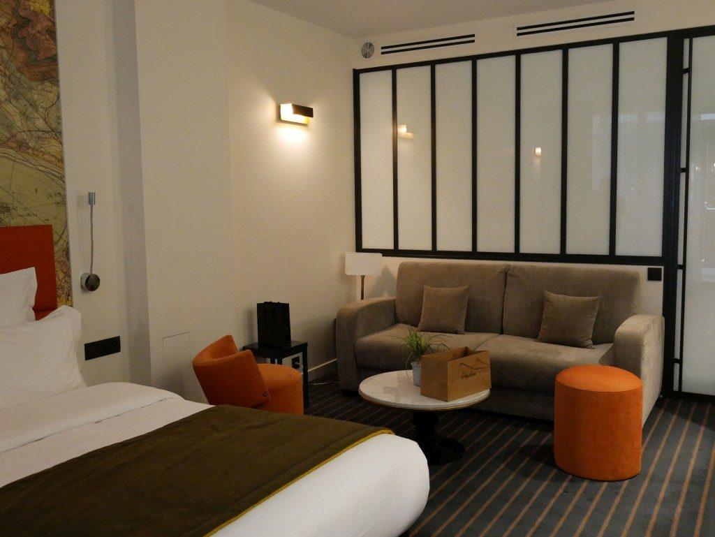 Hôtel Scarlett chambre Paris - DR Melle Bon Plan 2017