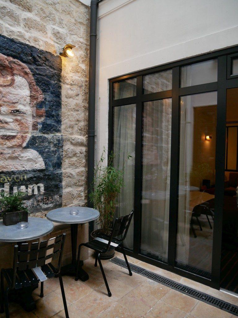 Hôtel Scarlett loby Paris - DR Melle Bon Plan 2017