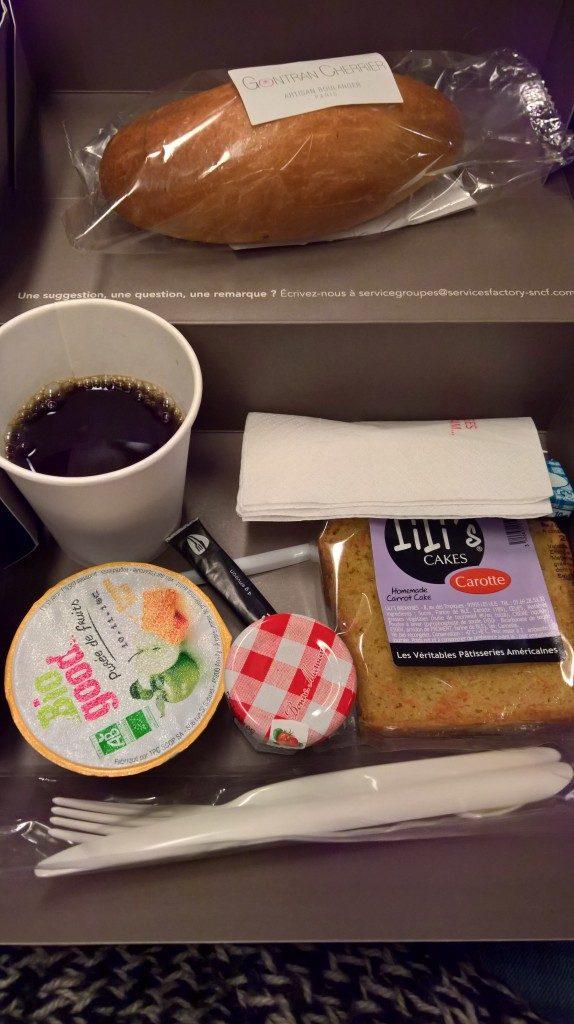 Petit Déjeuner Train Intercités