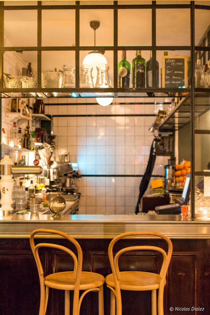 comptoir restaurant Buffet de la Gare Paris