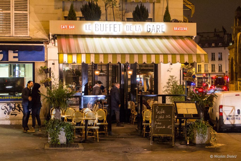 façade restaurant Buffet de la Gare Paris