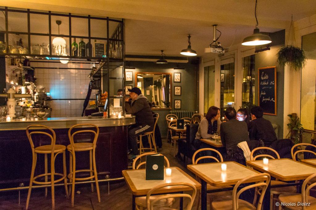 salle restaurant Buffet de la Gare Paris