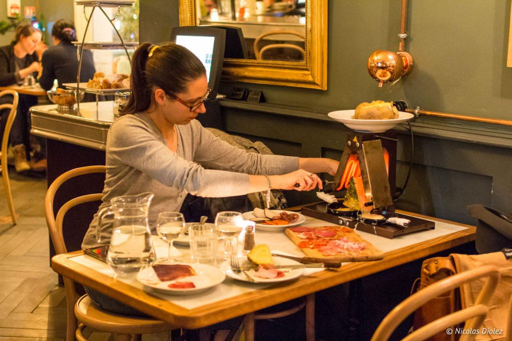 raclette a volonte paris