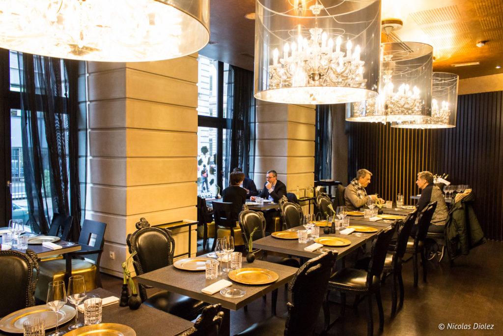 Restaurant Josefin Hotel Banke Paris - DR Nicolas Diolez 2017