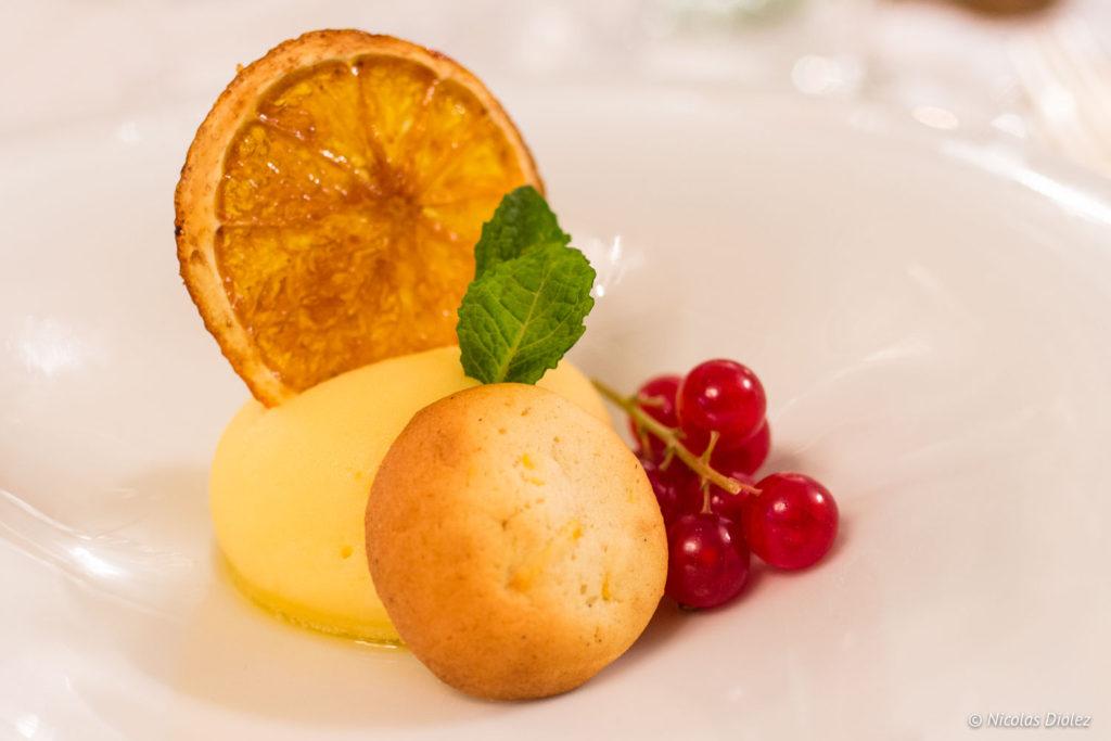 dessert restaurant Marina Ostende Belgique