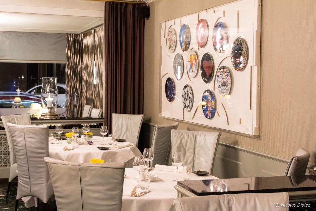 salle restaurant Marina Ostende Belgique