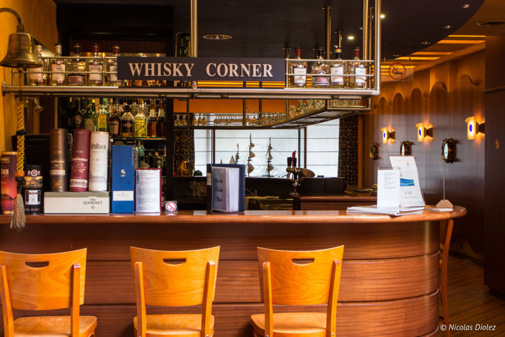 Bar whisky hôtel Bero Ostende Belgique