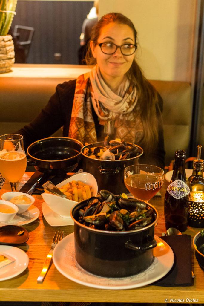 Melle Bon Plan au Bistro Bottarga Ostende Belgique