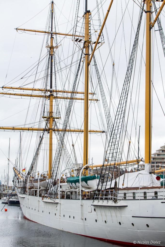 bateau Mercator Ostende Belgique