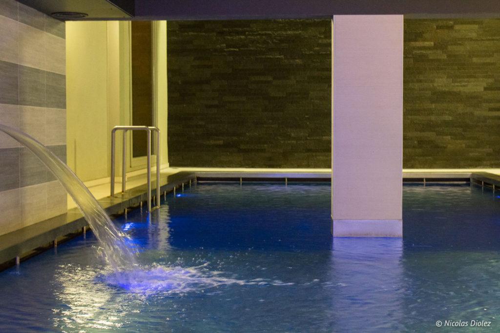 piscine hôtel Bero Ostende Belgique