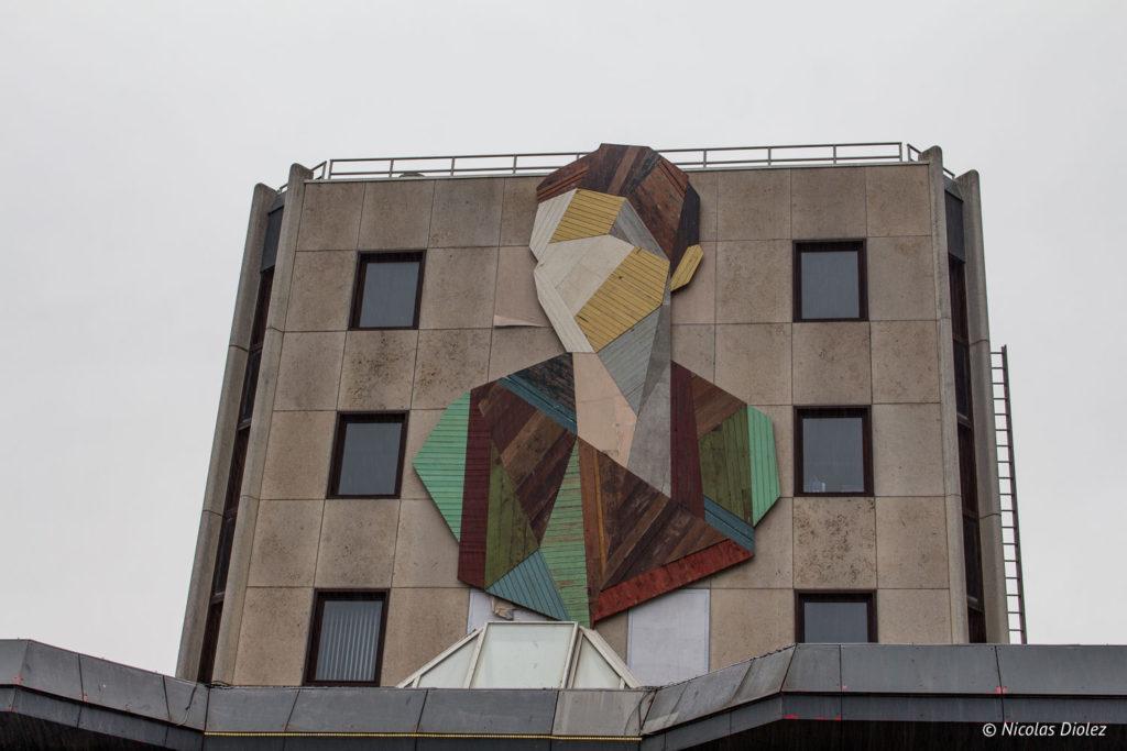 Street art Ostende Belgique - DR Nicolas Diolez 2017