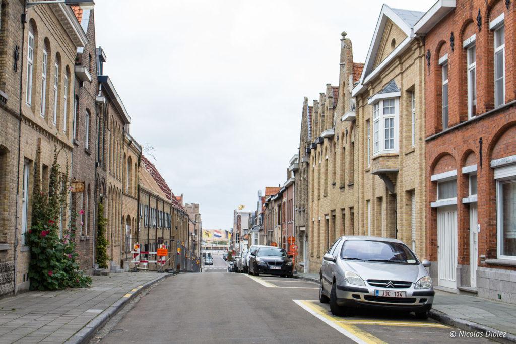 rue Nieuwport Belgique