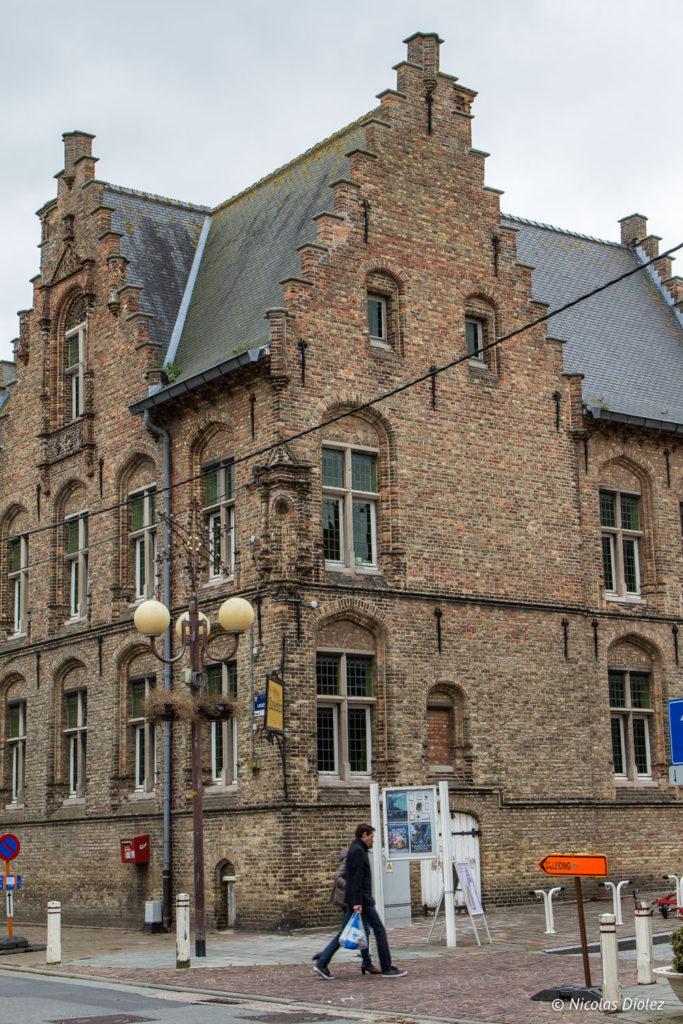bâtiment Nieuwport Belgique