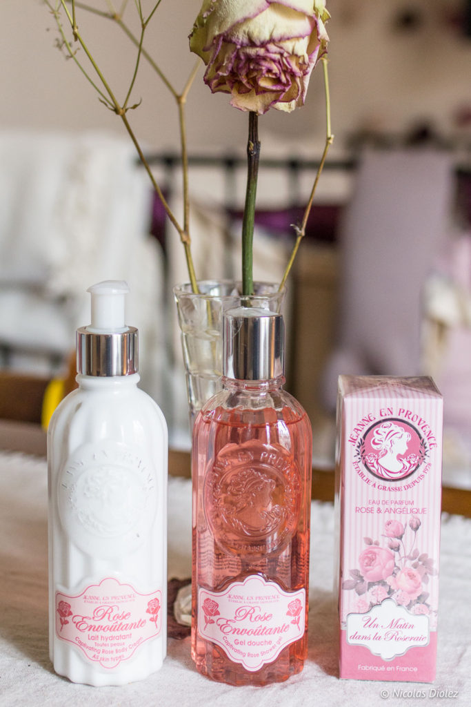 gamme Rose Envoûtante Saint Valentin Jeanne en Provence - DR Nicolas Diolez 2018
