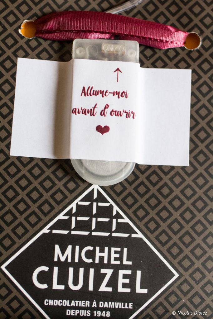 Chocolats Michel Cluizel Saint Valentin - DR Nicolas Diolez 2018