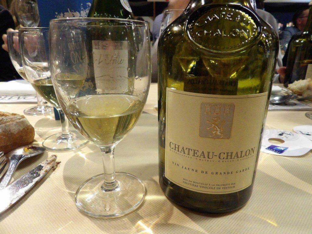 Bouteille Chateau Chalon Percée du Vin Jaune 2018