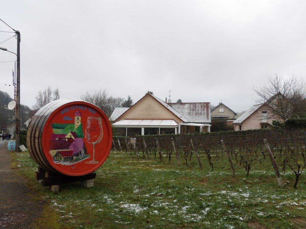 tonneau La Percée du Vin Jaune Jura 2018