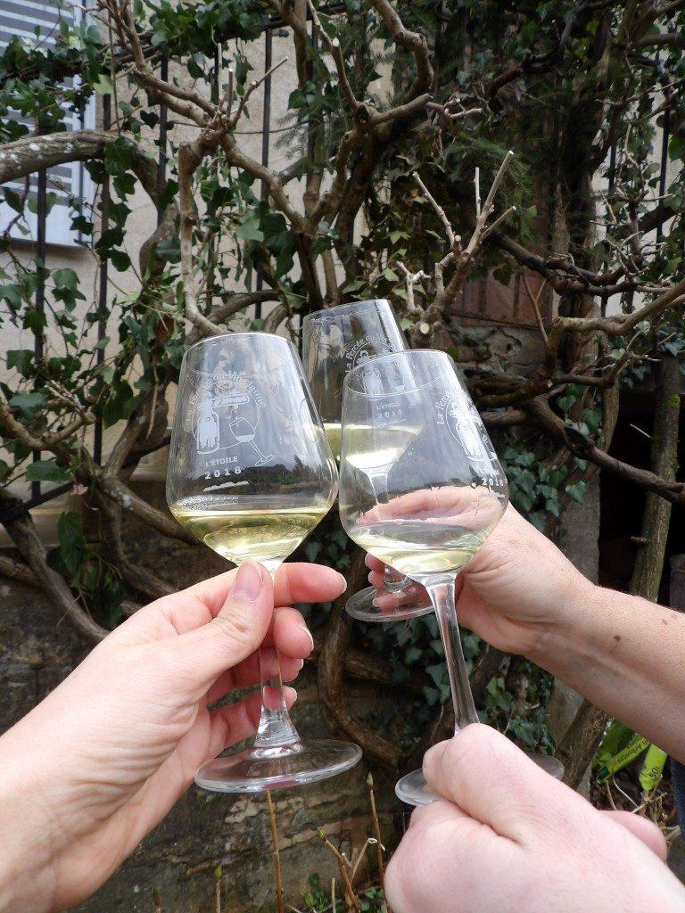 verres de vin Percée du Vin Jaune 2018