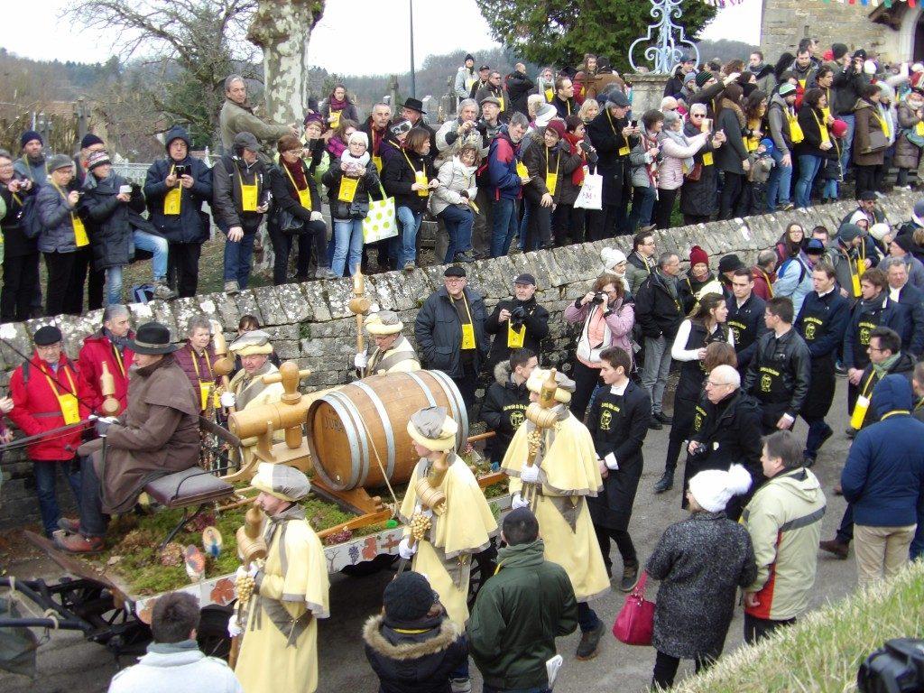 La Percée du Vin Jaune Jura - DR Melle Bon Plan 2018