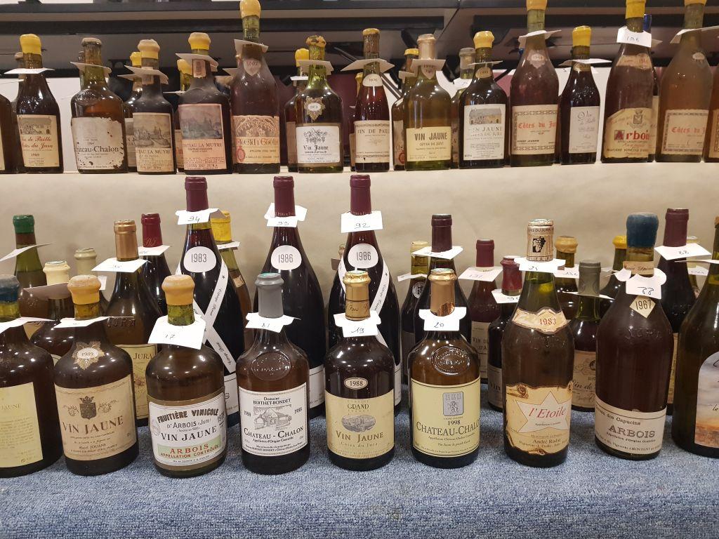 bouteilles vente aux enchères