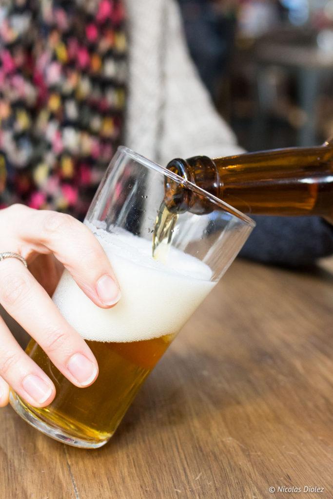 bière verre Arkose Nation Paris
