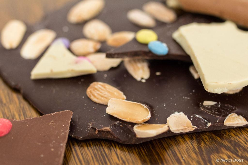 feuilles chocolat Atelier du chocolat Pâques