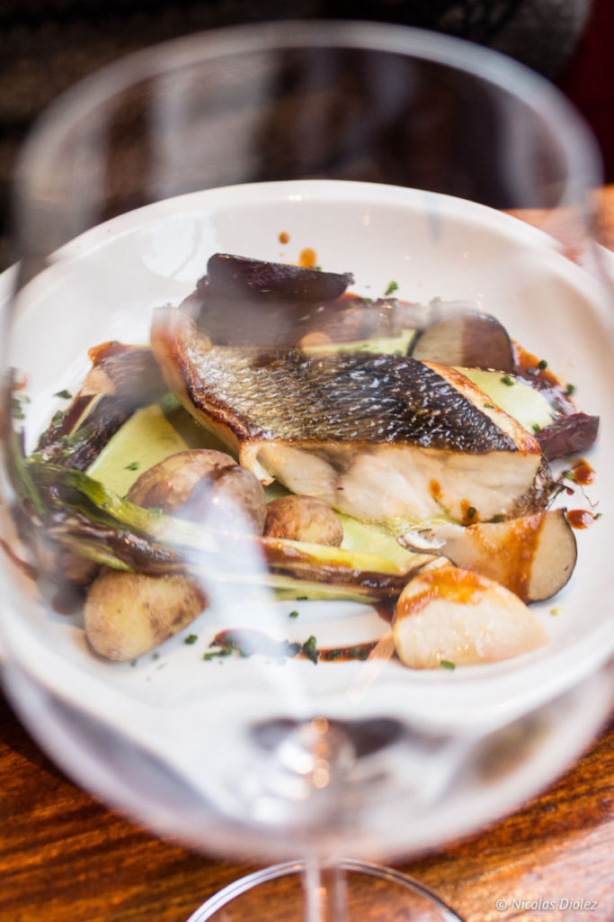 poisson verre Café des musées