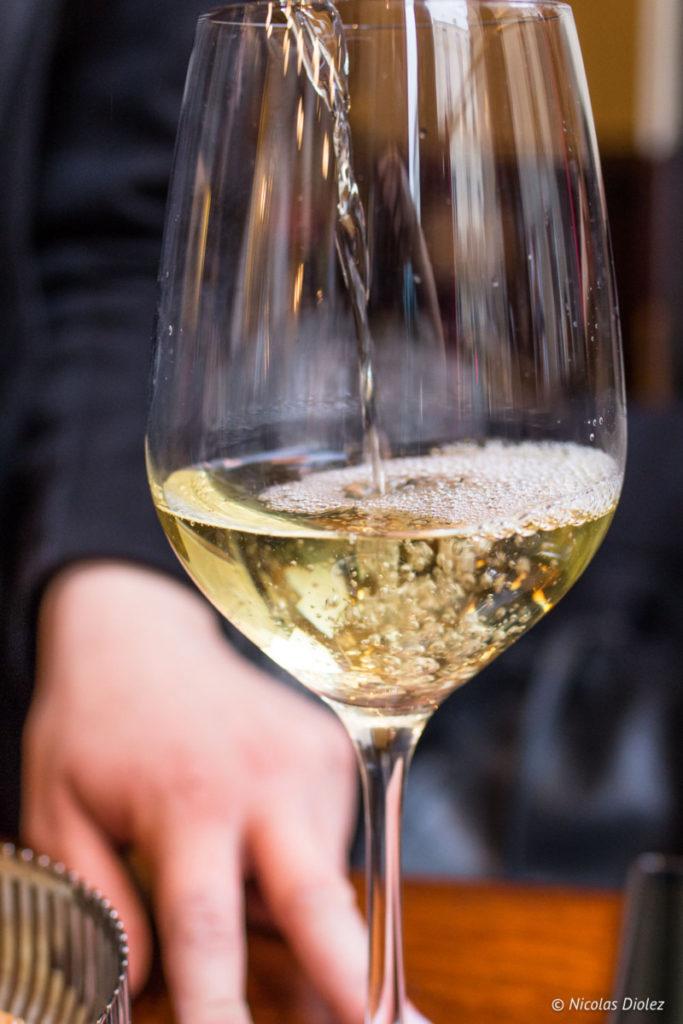verre vin Café des musées