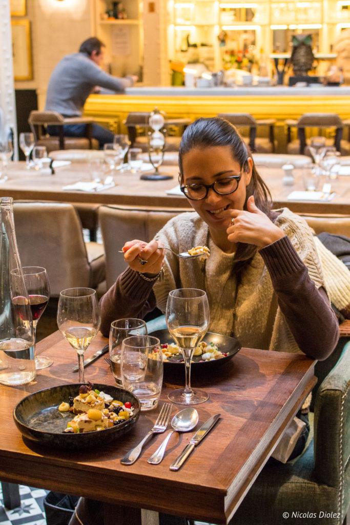 melle bon plan restaurant Les Chouettes Paris