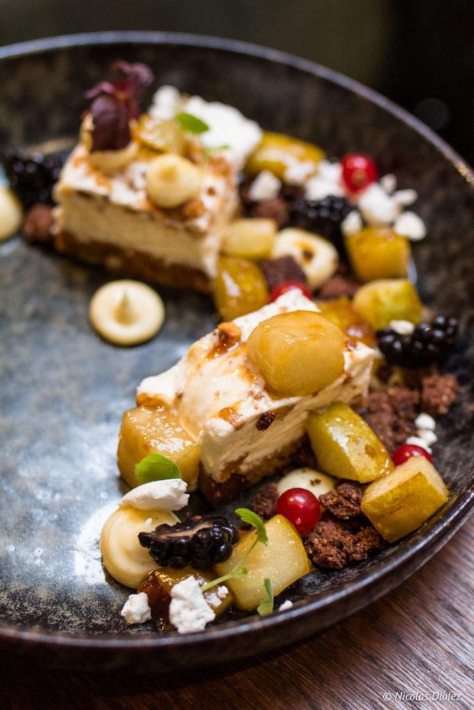 dessert restaurant Les Chouettes Paris