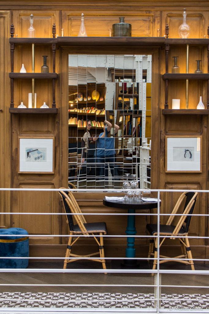 auto portrait Nicolas diolez restaurant Les Chouettes Paris