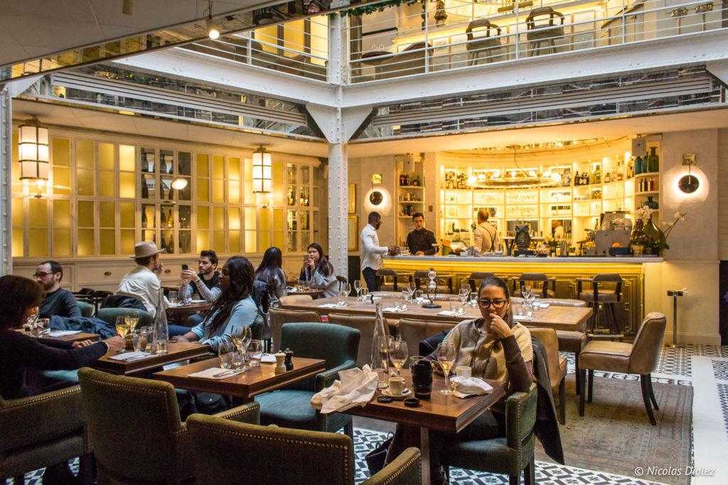 restaurant Les Chouettes Paris - DR Nicolas Diolez 2018