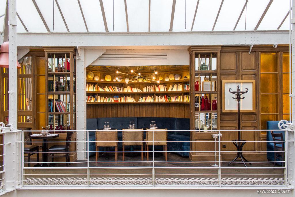 étage restaurant Les Chouettes Paris