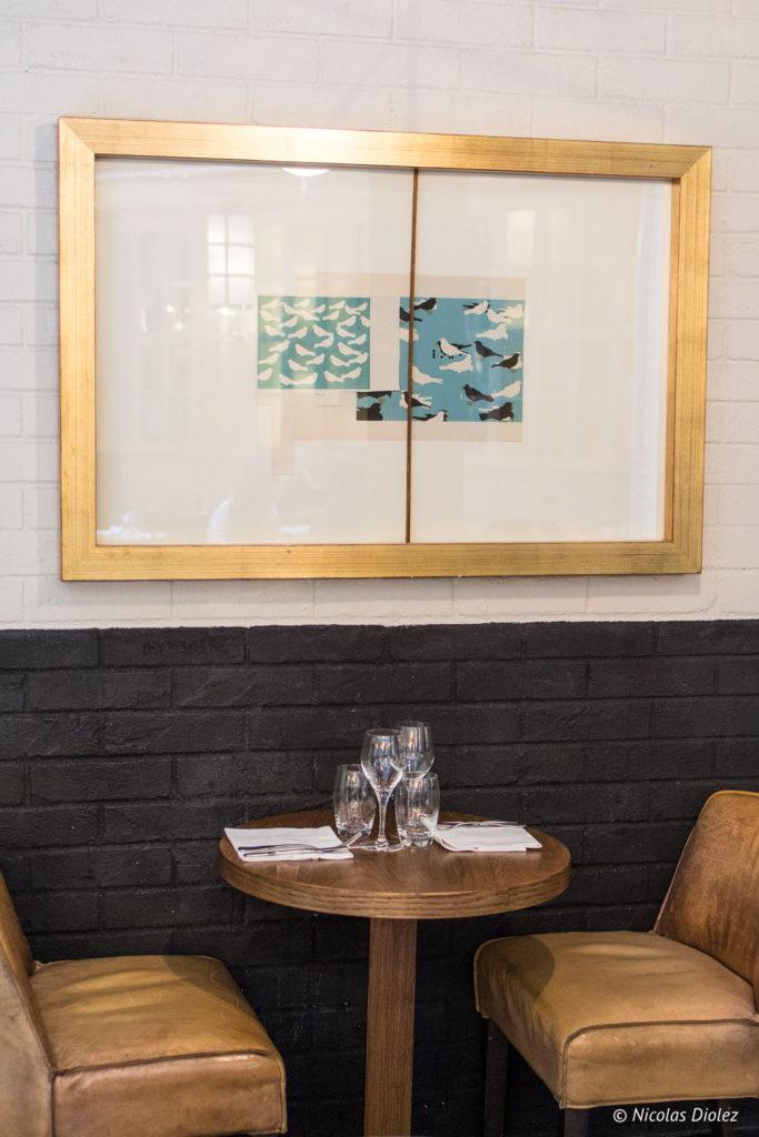 petite table restaurant Les Chouettes Paris