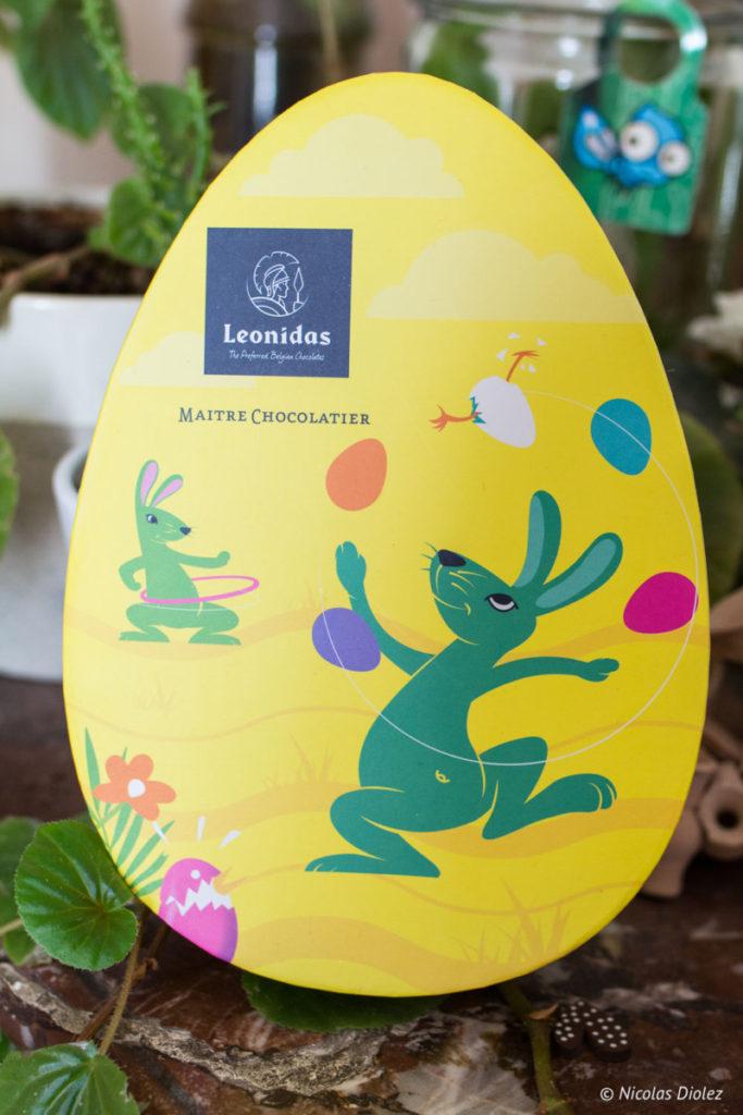 Collection Pâques oeufs chocolat Léonidas 2018