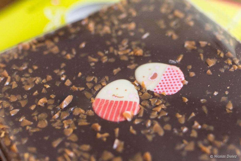 tablette chocolat Pâques Monbana 2018