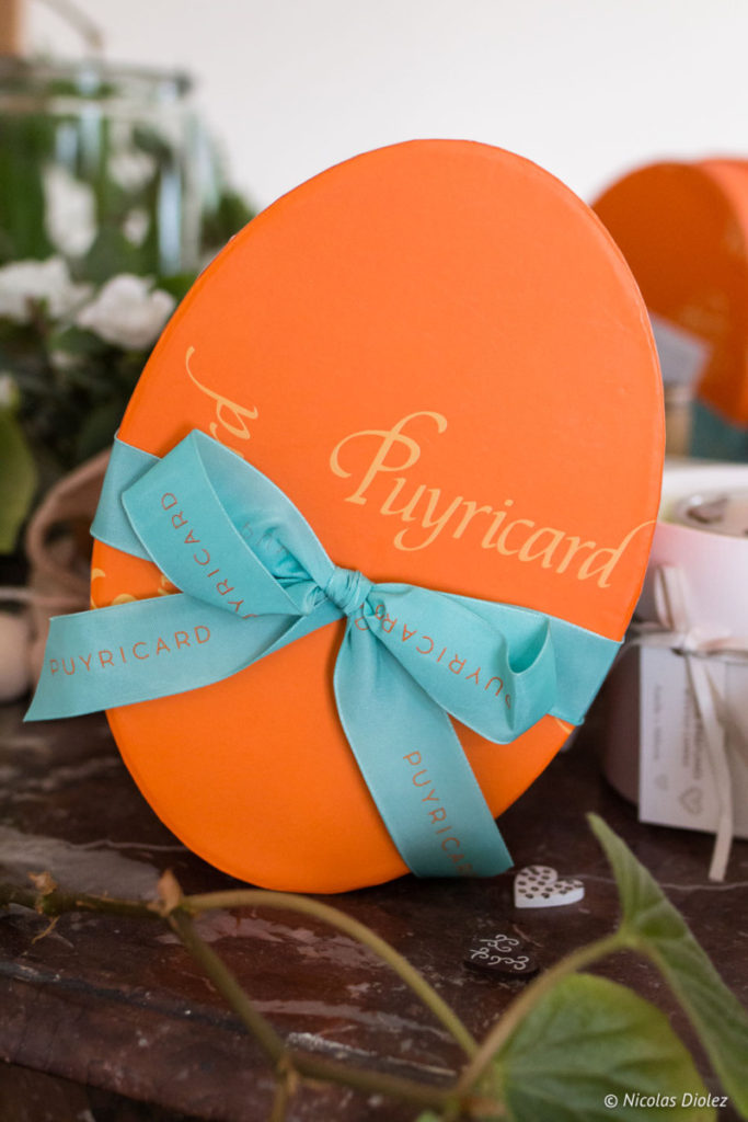 Boite Oeuf chocolat Pâques Puyricard 2018