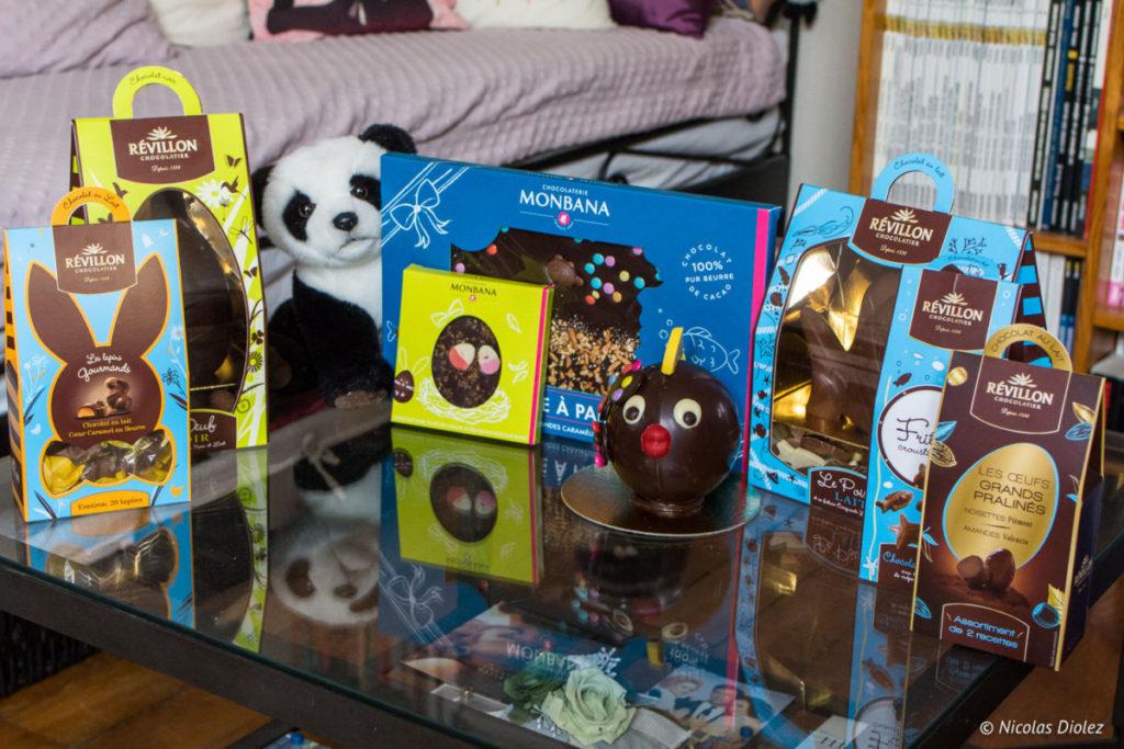 Collections chocolats Pâques 2018