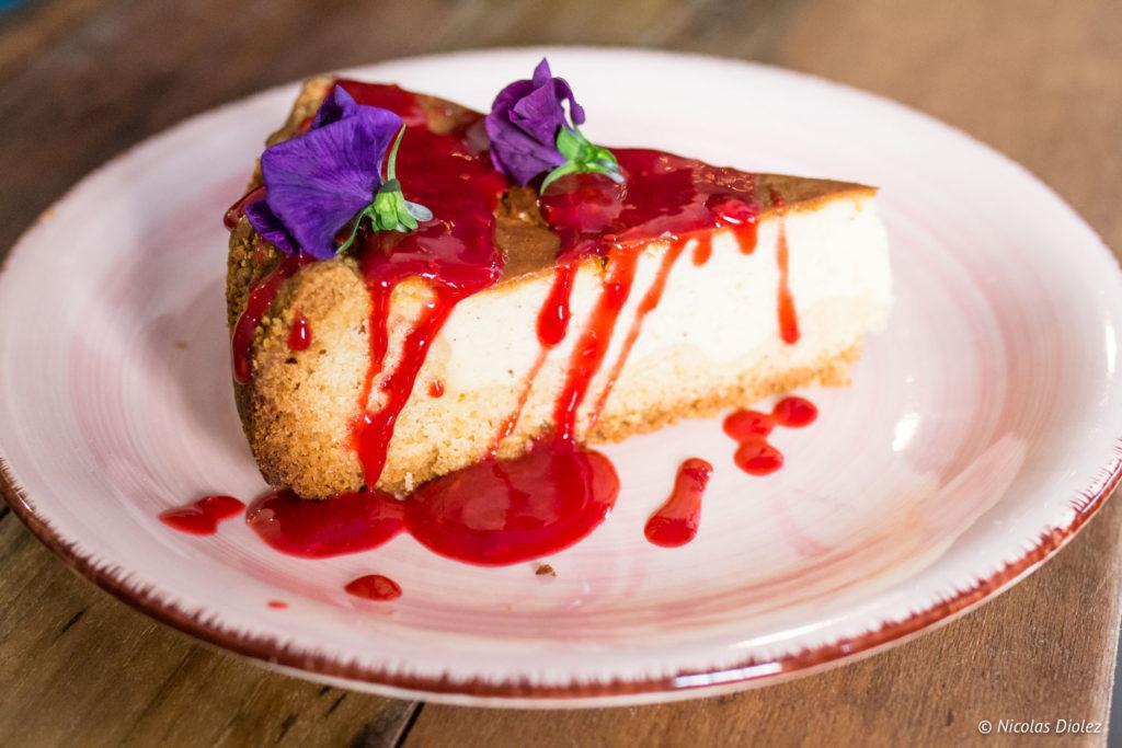 Cheesecake Positive Café Versailles