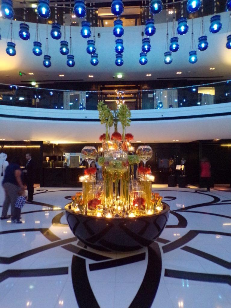 hall entrée Hotel W Doha Qatar