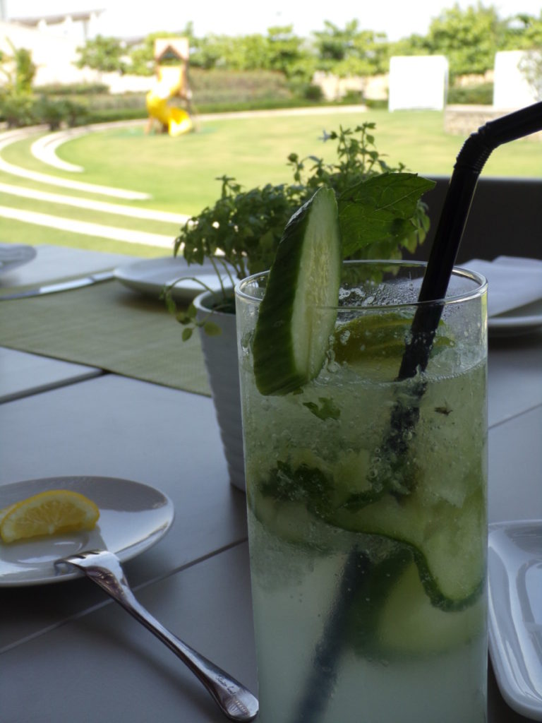 cocktail Chef's Garden Qatar