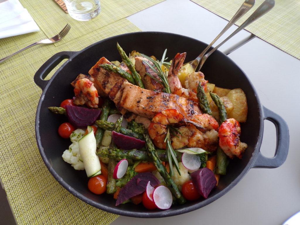 plat Chef's Garden Qatar